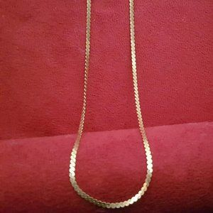 Vintage 18k Yellow Gold Chain made in Italy